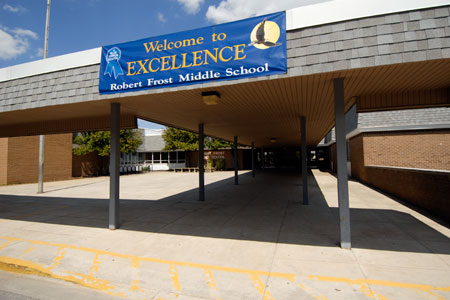 photo of Robert Frost Middle School, Rockville