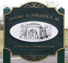 photo of poolesville sign