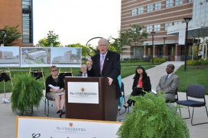 """photo of Dr. William E. """"Brit"""" Kirwan, Chancellor of the University System of Maryland"""