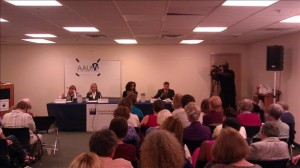 photo of League of Women Voters School Board Debate
