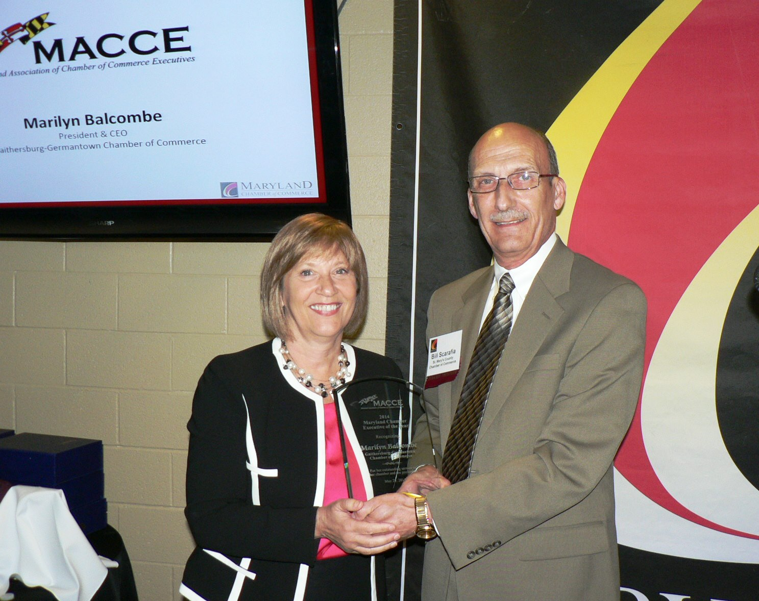 Balcombe Named 2014 Chamber Executive of the Year (PHOTO