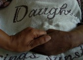 Caregivers are there to comfort and to console