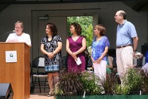 photo of Council Member Cathy Drzyzgula, Monica Martin, June Zillich, Gladys Gutierrez, Larry Epp