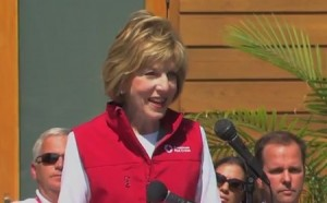 photo of Linda Mathes, CEO of the National Capital Region, American Red Cross