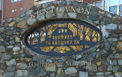 photo of kentlands sign