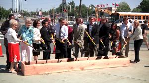 photo of groundbreaking ceremony