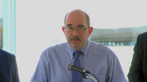 photo of George Leventhal at Silver Spring Police Station Ribbon Cutting