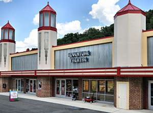 photo of exterior of Adventure Theatre in Glen Echo Park