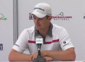 photo of Justin Rose at press conference