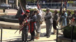 phtoo of Heritage Days Civil War Reenactment