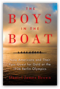 photo of book cover for the boys in the boat