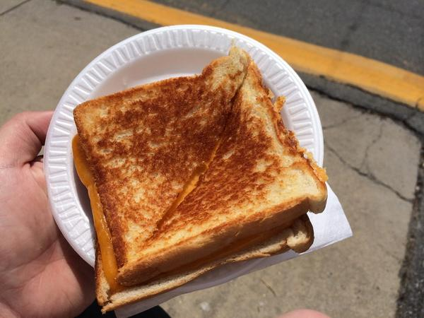 photo of toasted cheese at fair