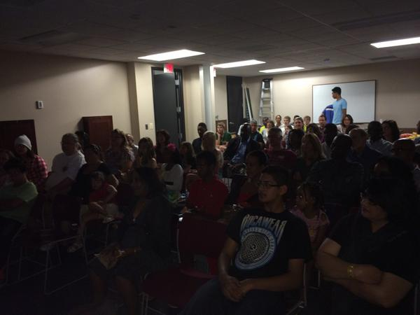 photo of Backpack Journalism Summer 2014 Screening Party