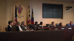 photo of Montgomery County Council briefing