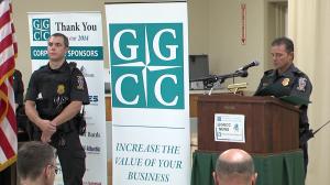 photo of GGCC public safety awards Matthew Stoikus