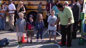 photo of Elementary Students begin school