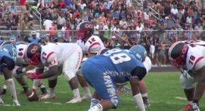 photo from 9/5 QO vs Clarksburg football game
