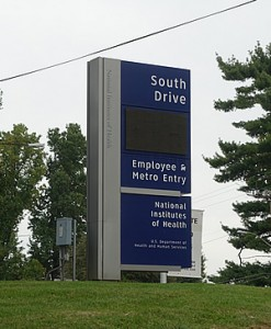 NIH South Entrance for featured image