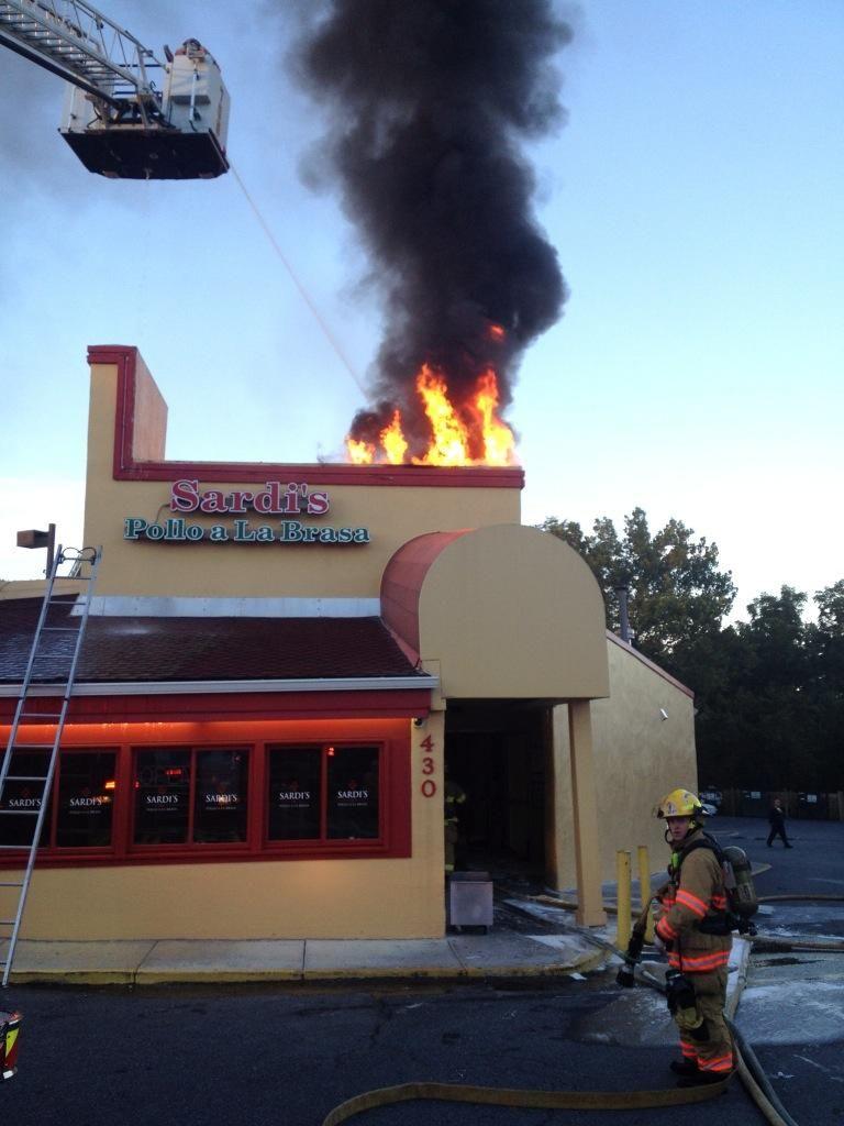 Fire At Sardi S Restaurant In Gaithersburg Photos