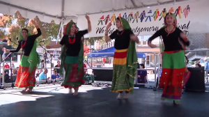 photo of dancers performing at World of Montgomery Festival
