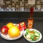 using honey vinegar to enhance salad flavors