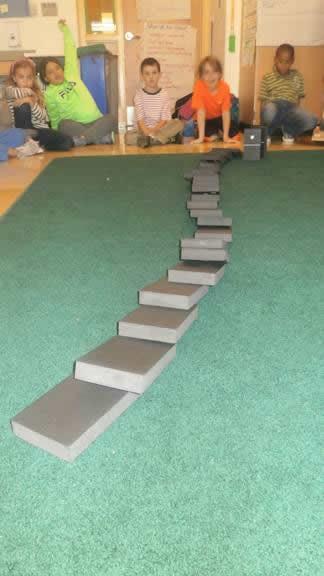 Dominos fell