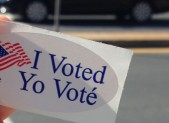 I Voted Sticker 450x280