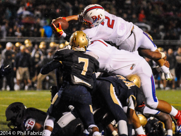 It was that close for DeMatha, Good Counsel eventually wins.