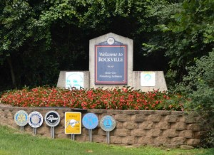 photo of Welcome to Rockville sign