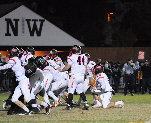 QO's Victory formation in Germantown