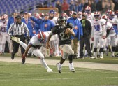 NW's EJ Lee at M&T Stadium with 1 of his two TD runs