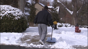 Man shoveling snow 1