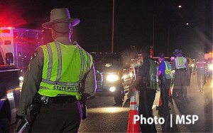 MSP DUI Maryland State Police holiday crackdown on drunk driving