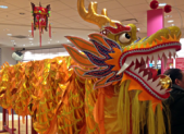 photo of Lunar New Year celebration at Lake Forest Mall Feb. 21