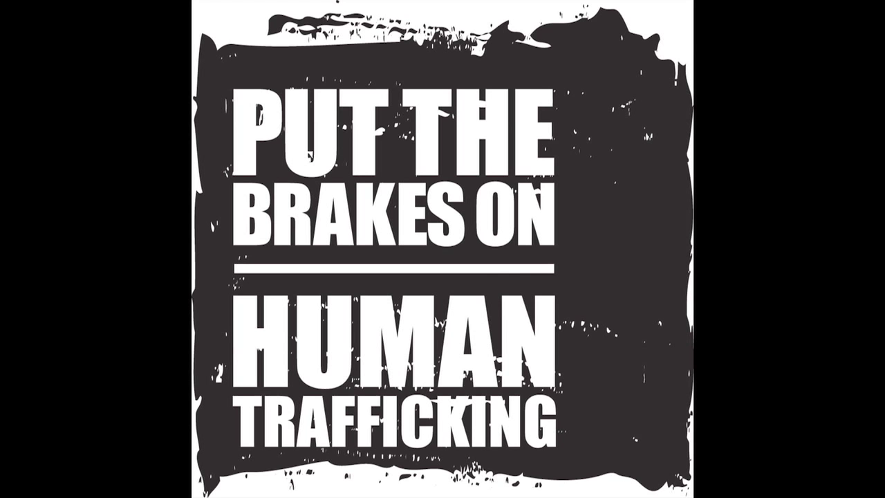 poster advocating stop of human trafficking