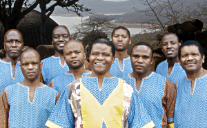 photo of South African band Ladysmith Black Mambazo