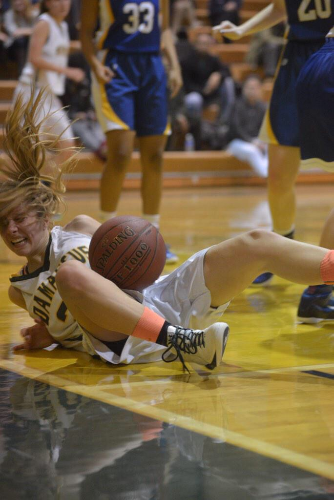 photo of Holy Child vs Damascus girls basketball game