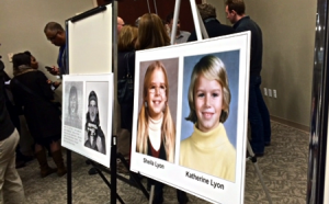 photos of lyons sisters at police media conference