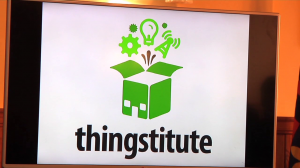 photo of the thingstitute sign
