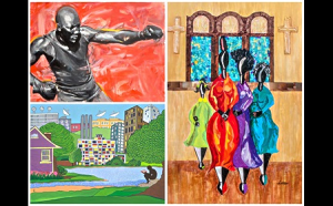 photo of artwork submitted for Gaithersburg's Black History Month