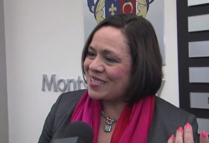 photo of Nancy Navarro as she comments on resignation of Joshua Starr