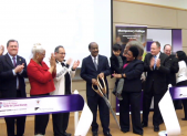 photo of ribbon cutting