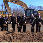 photo of public safety training academy groundbreaking ceremony