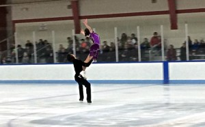 photo of ice skaters at Wheaton rink