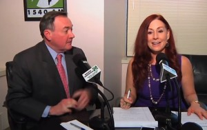 photo of George Griffin and Lorna Virgili on Montgomery Al Dia