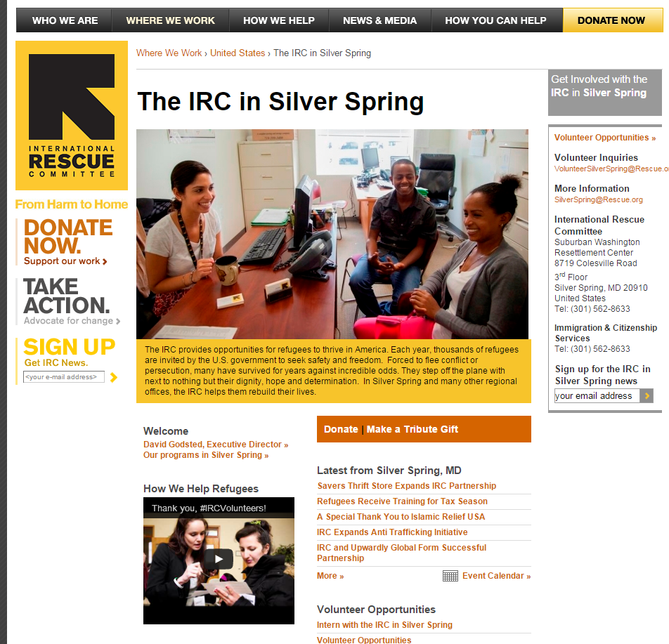 IRC Silver Spring Website