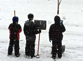 March 5 Snow Boys & Shovels 450x280