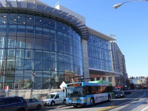 photo of silver spring library under construction March 2