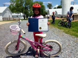 PHOTO |City of Rockville TERRIFIC bikes giveaway 2014