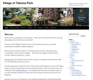 Village of Takoma Park